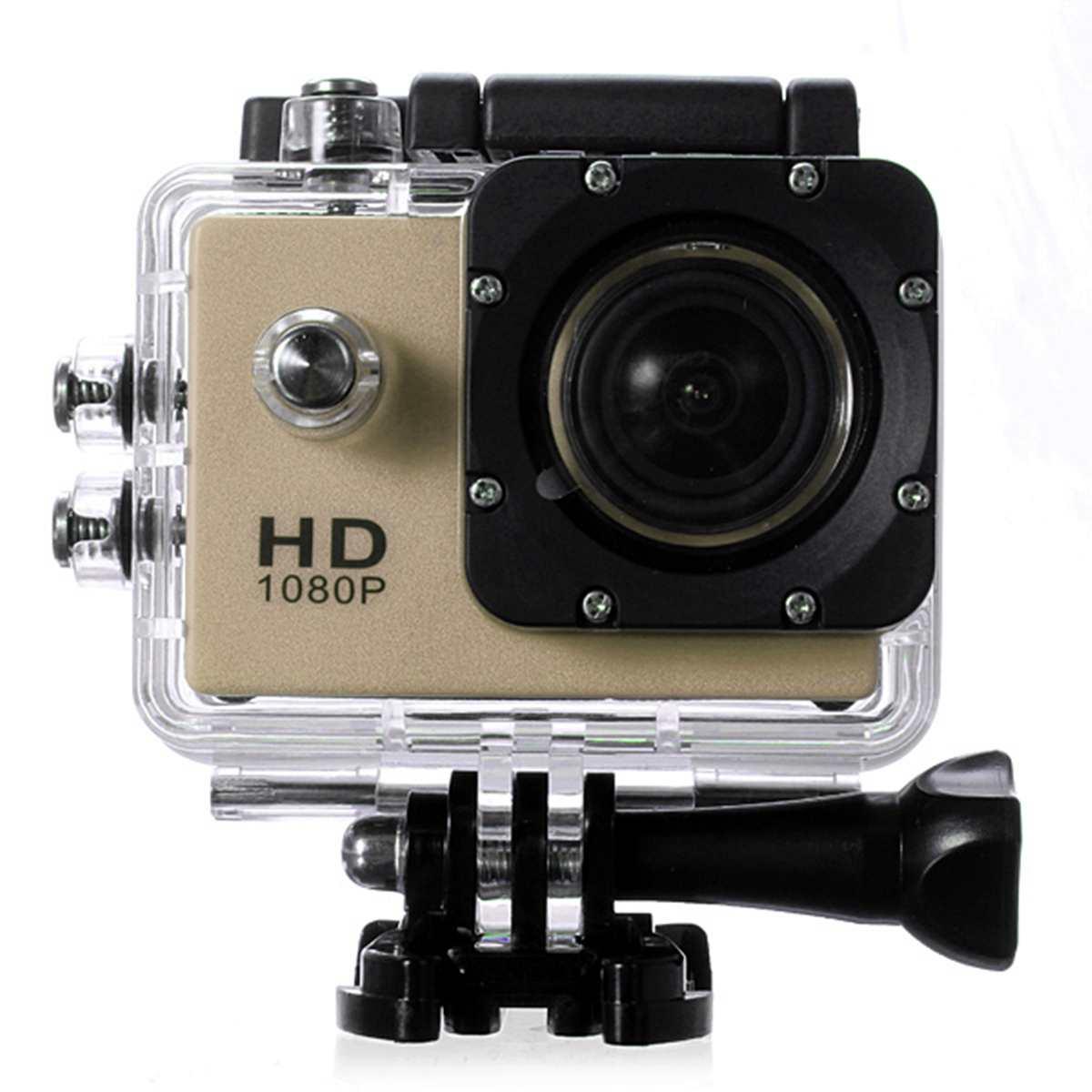 SJ4000 Sport DV 170 Degree HD Video Photo Action Underwater 30M Waterproof Case Camera Black White Silver Yellow Blue Gold
