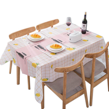 AA Waterproof Table cloth Polyester Tassel Tablecloth Simple Check Rectangular Tablecloths Dining Table Cover Home Decor winsome home decor traditional xola console table cappuccino finish