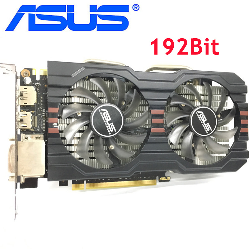 ASUS Video Card GTX 660 2GB 192Bit GDDR5 Graphics Cards for nVIDIA Geforce GTX660 Used VGA Cards stronger than GTX 750 Ti|Graphics Cards| - AliExpress