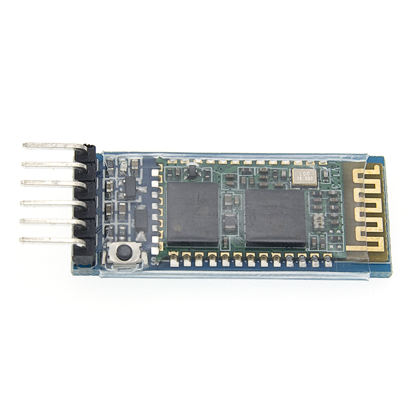 Image 2 - 50pcs/LOT HC05 anti reverse, integrated Bluetooth serial pass through module, HC 05 master slave 6pin-in Integrated Circuits from Electronic Components & Supplies