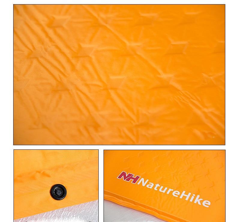 NatureHike Self-Inflating Sleeping Mattress with Pillow