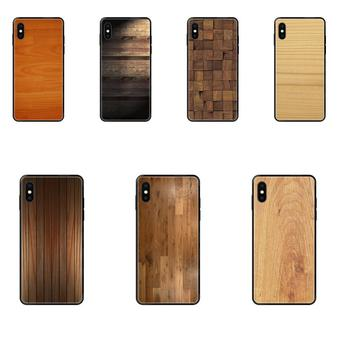 Madera Wood Picture Phone Case For Samsung Galaxy S20 S10e S10 S9 S8 S7 S6 S5 edge Lite Plus Ultra image