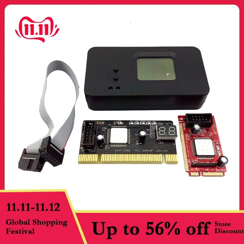 4PCS/Set 4-In-1 PCI/Mini PCI/Mini PCI-E/LPC Desktop Laptop LCD Analyzer Debug Test POST Card