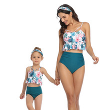 Family Look Mommy And Me Bikini Set Swimsuit Brachwear Family Matching Clothes Mother Daughter Swimwear Mom Daughter Clothes mother daughter swimsuits family look mom and daughter swimwear unicorn family matching bathing suit mommy and me bikini clothes