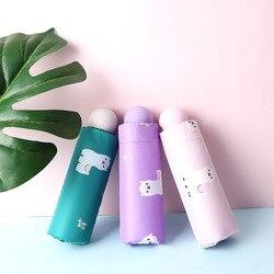Producenci obecnie dostępne sprzedaż bezpośrednia pół ceny Parasol trzy składanie automatycznego winylowy Parasol kieszonkowy Mini alpaki Parasol na