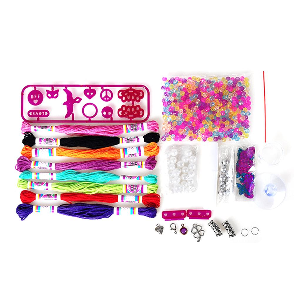 Bracelet Maker Knitting Machine Kits Jewelry Knitter Toys Gifts For Children
