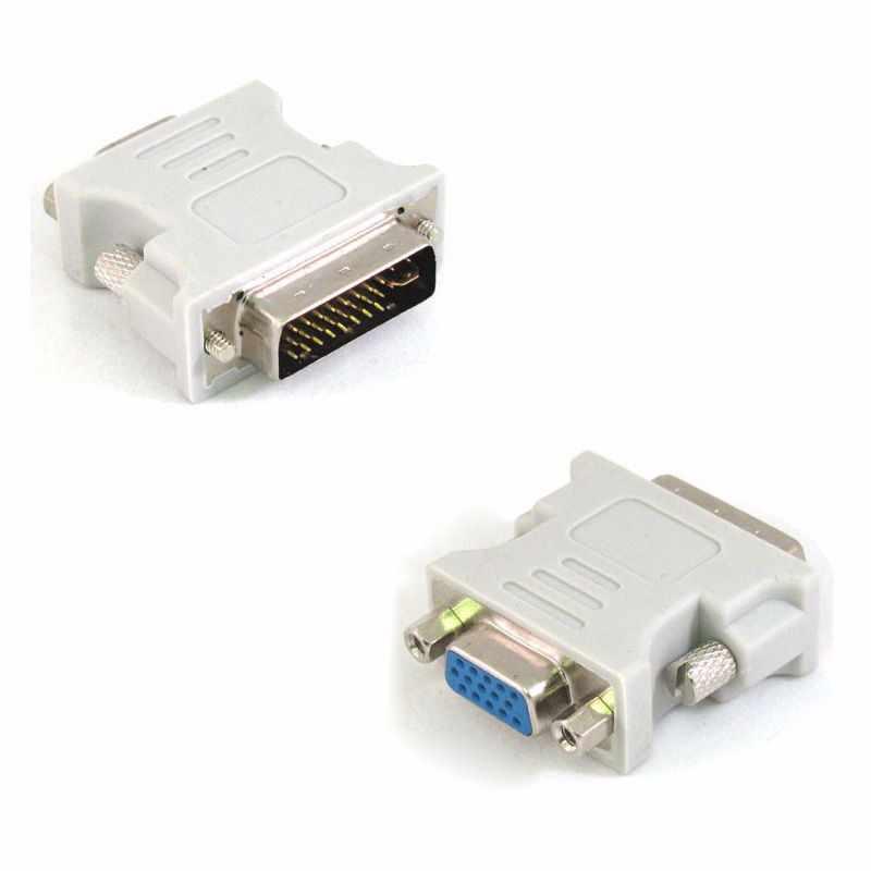SUOZUN 1080P DVI i 24 + 5 إلى كابل تجهيز مرئي ذكر أنثى محول محول فيديو التبديل موصل ل HDTV PC العارض شاشة العرض