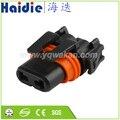 Kostenloser versand 5sets 2pin HID elektrische wasserdichte auto kabelbaum stecker weiblich 12059181