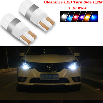 2PCS For Suzuki Swift Bmw F10 X5 E70 E30 F20 E34 E91 M Volvo XC90 S60 Car Accessories Clearance T10 LED Turn Side Light image