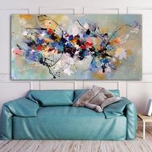 RELIABLI художественная абстрактная живопись маслом на холсте настенные художественные картины для гостиной спальни современная домашняя декоративная живопись без рамки