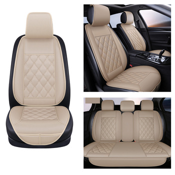 Car Seat Cover Protector seat Car Universal Front Rear seat cushions Full Set Car Seat Cushion Pad luxury Car seat Cape 5 seats winter warm car seat cover soft velvet plush car seat cushion front back rear car chair pad universal 5 seats protector