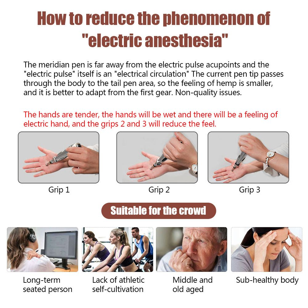 Acupuncture Pen For Face Electronic Acupuncture Pen For Back Pain