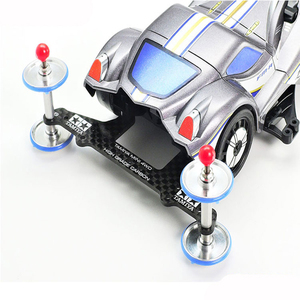 Image 3 - 10PCS 95455 AR/S2/VS/SXXแชสซี1.5มม.คาร์บอนไฟเบอร์Pterisตัวอักษรด้านหลังRoller StayสำหรับTamiya Mini 4WDแข่งรถ