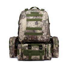 Outdoor Tactical Military Backpack Molle Hiking Combat Camping Assault Bags Trekking Hunting Camouflage