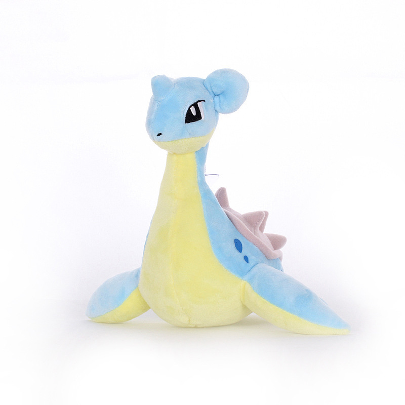 1pcs 20cm Lapras Plush Toys Doll Cute Lapras Pendant Soft Stuffed Peluches Cartoon Animals Toys Gifts For Kids Childrens