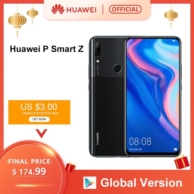 Global Version Huawei P Smart Z 4GB 64GB Kirin 710F Octa core Smartphone Auto Pop Up Front Camera 6.59'' Cellphone Support NFC