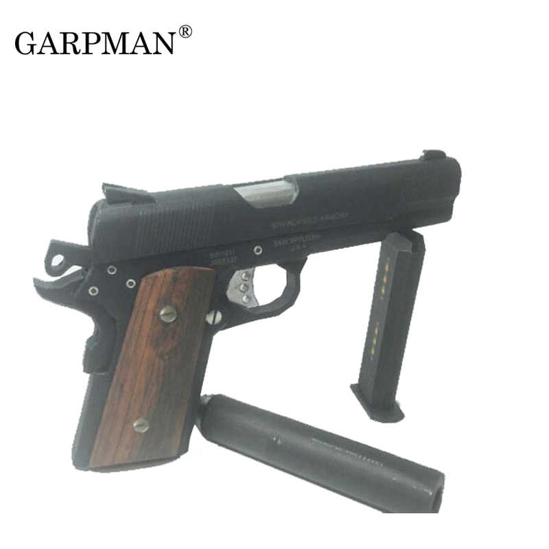 3d Paper Model Guns Hitman Us Colt M1911 Pistol 1 1 Scale Weapons Puzzles Diy Papercraft Toy Toy Touch Screen Phone Toy Box Lid Supportstoy Walkers Aliexpress