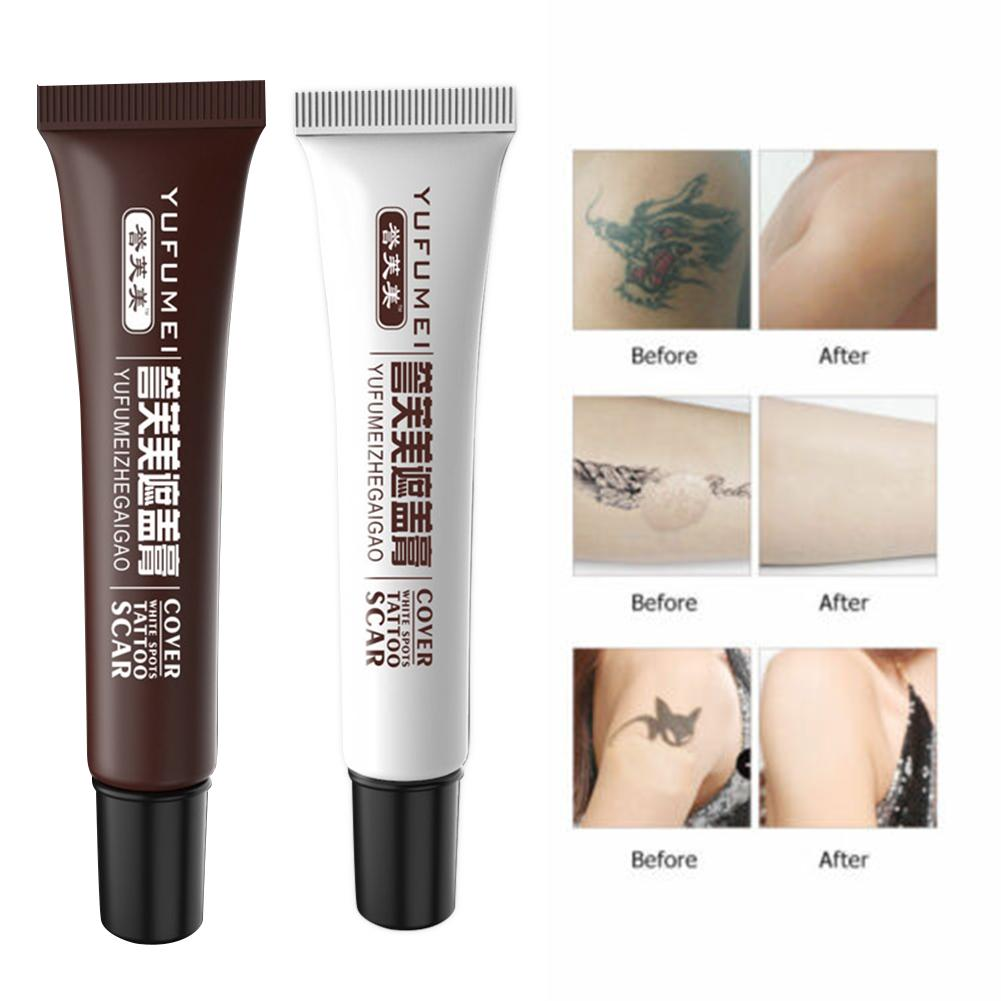 2pcs/Set Skin Concealar Stick Camouflage Make-Up Concealer For Tattoo, Scar And Birthmark Cover Up Tattoo Concealer Cream