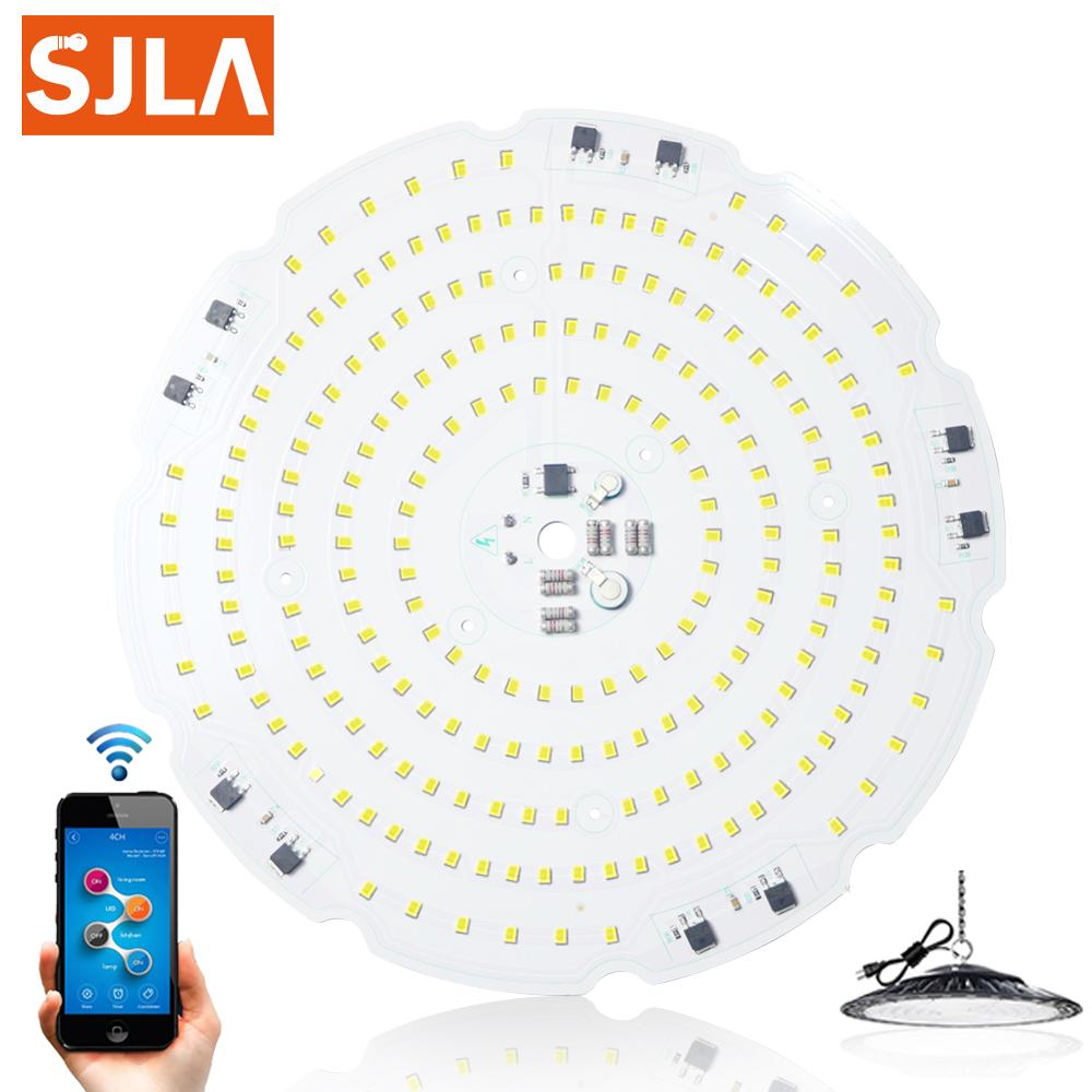 SKD Matching Led High Bay Light Board UFO Industrial Ceiling Canopy Lamp Garage Workshop Rod Warehouse Stadium Market Airport