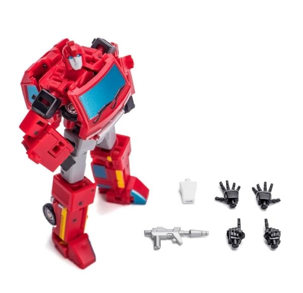 NewAge Toys Transformers Mini Warrior EROI H3B KITT Bluestreak Figura in magazzino
