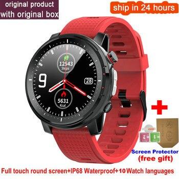 L15 Smart Watch Men 1.3inch Full-fit Round Retina Display Music Control Camera Flashlight PK L5 L9 Smartwatch IP68 Waterproof 11