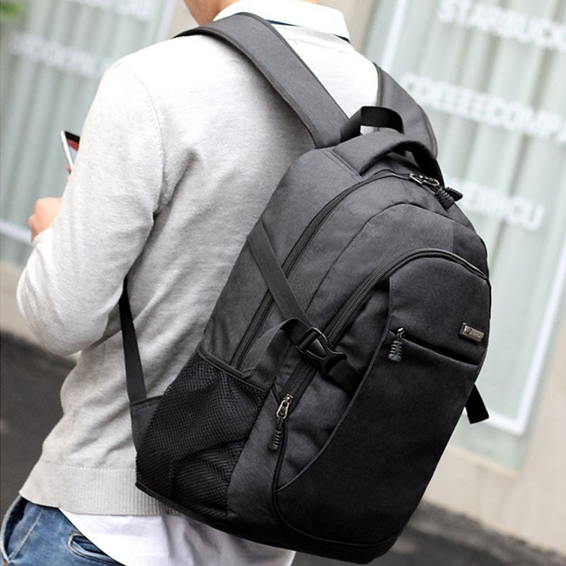New Laptop Backpack with Usb Charging Port Business Water Resistant Polyester and Notebook Bag in Backpacks from Luggage Bags