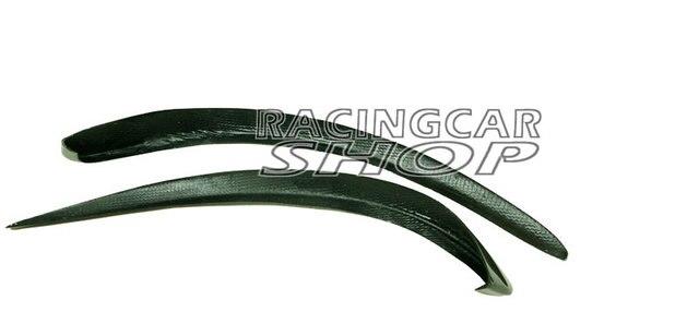 Real Carbon Fiber air knife 1PAIR For Benz W117 CLA250 CLA45 Amg 2Pcs/Set M067 5