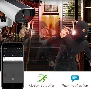 Image 5 - Solar Power 4G karta SIM bezprzewodowa kamera IP naładuj baterię 1080P 4X Zoom Audio IR nocny widok wideo na zewnątrz kamera monitorująca