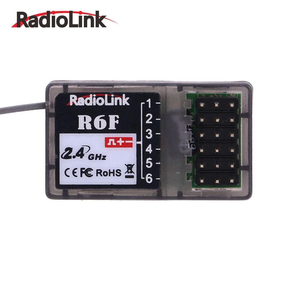 Nova R6F Radiolink 2.4Ghz Receptor Para RC6GS RC4GS 6CH RC3S RC4G T8FB RC Transmissor Receptor Rc 2.4G Sinal