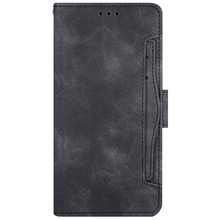 Card Case For Umidigi S5 Pro Cases Retro PU Leather and TPU Wallet Multi-card Slots Magnetic Shell Flip Stand Protective Cover