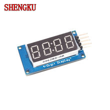 Tm1637 светодиодный Дисплей модуль для arduino 4 биты 7 сегментный