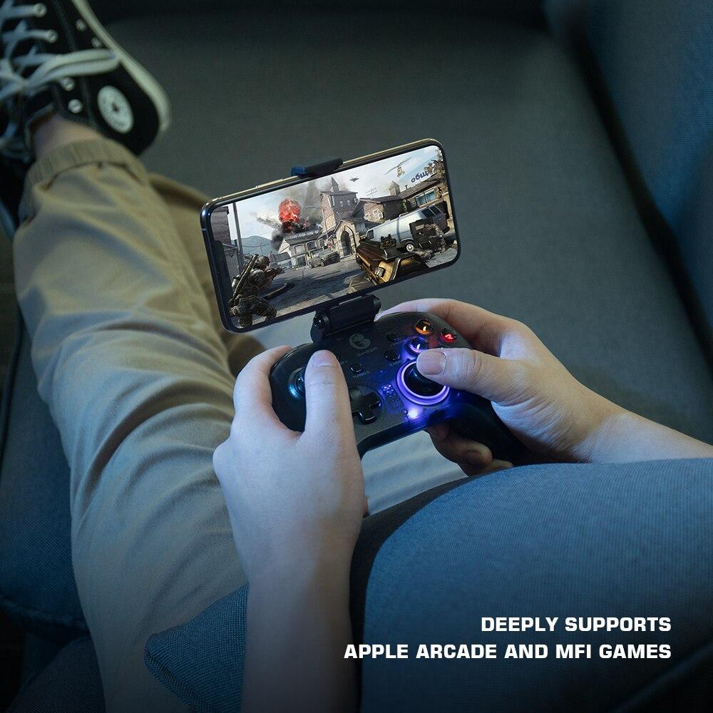 GameSir T4 Pro Bluetooth Game Controller 2.4GHz Wireless Gamepad applies to NintendoSwitch AppleArcadeandMFiGames 4