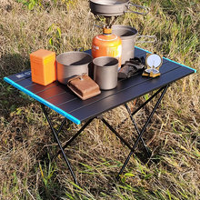 Table Picnic Dining Outdoor Folding Aluminum for Camping BBQ Ultralight