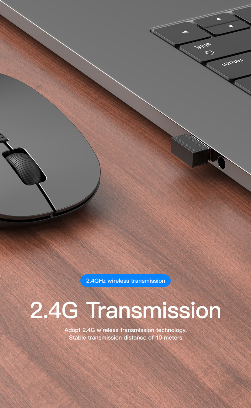 Wireless Mouse Gamer Computer Mouse Wireless Gaming Mouse Ergonomic Mause 4 Buttons USB Optical Game Mice For Computer PC Laptop