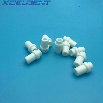 10pcs/pack Dental Oral Saliva Ejector Evacuation Valve Adapters Tips Rubber Dental Material image