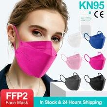 Peixe ffp2mask ce colores adulto reutilizável kn95 máscaras de proteção peixe respirador dustproof mascherine ffpp2 segurança mascarillas fpp2