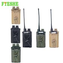 Mag Pouch Holster Talkie-Holder Pocket Tactical-Radio Waist-Belt-Bag Molle-Nylon Military