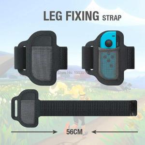 Image 2 - Bande de jambe réglable de sangle de Sport élastique résistante à lusure réglable légère pour des remplacements daventure dajustement danneau de commutateur