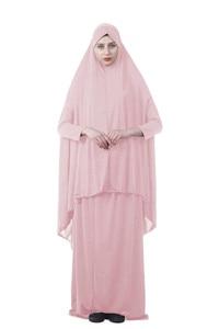 Image 5 - Kalenmos ملابس رسمية مصلاة للمسلمين مجموعة ملابس حجاب نسائية ملابس عباية إسلامية دبي تركيا نماز طويلة Khimar Jurken Abayas