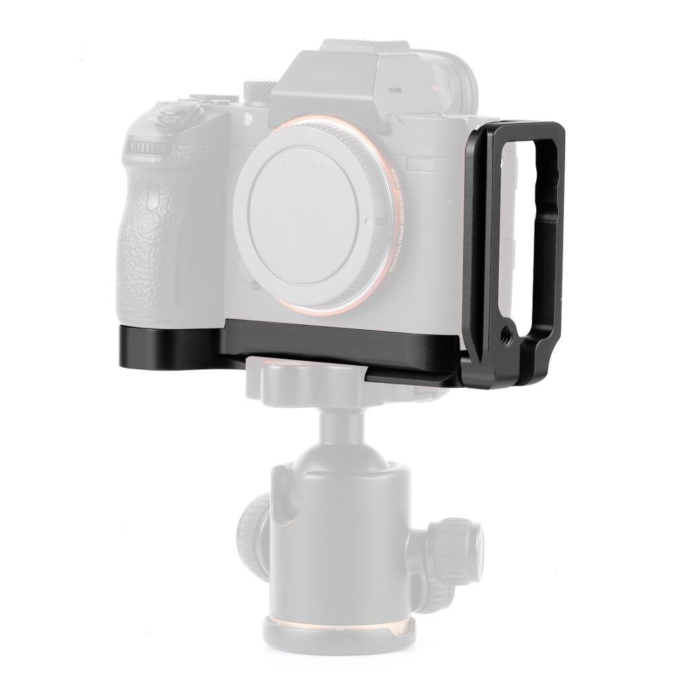 Aluminum Alloy A9 A7R3 Pro Vertical QR L Type Plate Bracket Tripod Quick Release Grip Handle Set For Sony A9/A7R3/A7M3 Camera