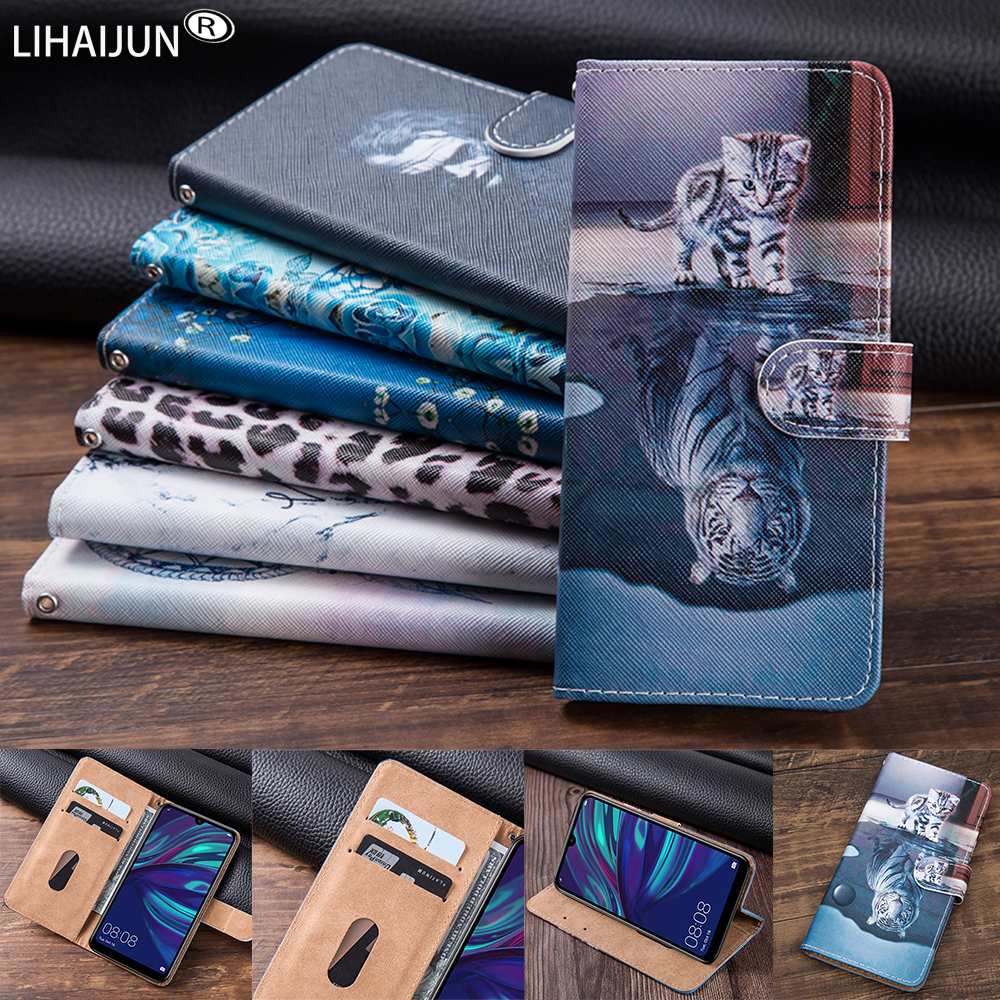 Luxury Flip Leather Wallet Case cover For BQ 6042L Magic E nubia z20 case for TP-Link Neffos A5 C7 Lite C7s C9s X20 Pro cat case(China)