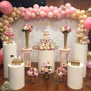 5 шт./лот, свадебные декорации из кованого железа, декоративные реквизиты, круглые вечерние витрины в форме цилиндра