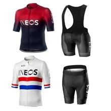 Велосипедная майка Pro Team INEOS, летняя велосипедная майка, набор, дышащая, для гонок, спорта, Mtb, велосипедная майка, Мужская одежда для велоспорта