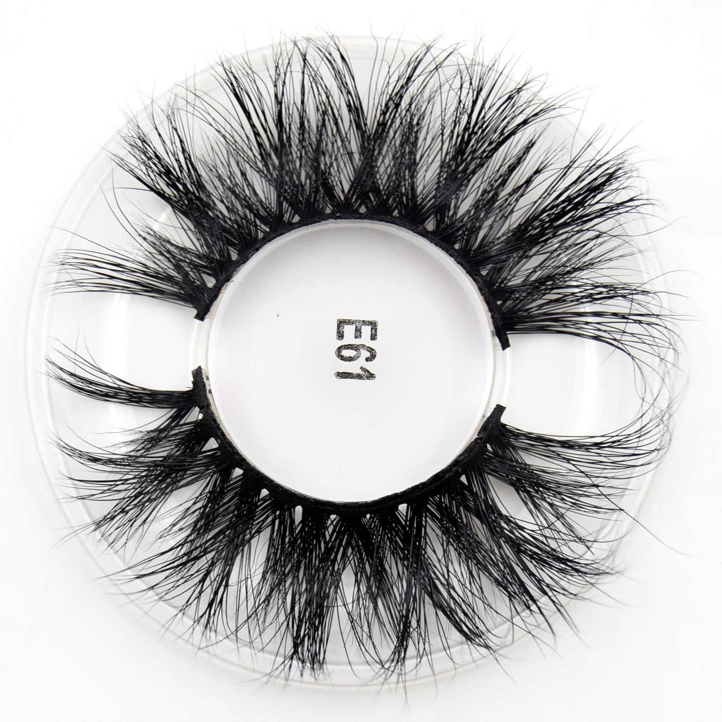 Visofree 25mm cílios 3d vison cabelo cílios postiços natural grosso longo olho cílios macios cílios beleza extensão ferramentas