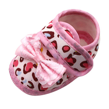 Letnie dziewczynek wzór w cętki Bow Prewalker miękkie podeszwy sandały pojedyncze buty sandały dziecięce sandały dziecięce na dziecięce buty dziecięce tanie i dobre opinie CZTERY PORY ROKU Dziecko dla obu płci W wieku 0-6m 7-12m 13-24m 25-36m CN (pochodzenie) Buty casualowe RUBBER Dobrze pasuje do rozmiaru wybierz swój normalny rozmiar