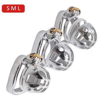NUUN sissy chastity cage ultra small metal male chastity device medium steel cock cage large bondage penis sex toys for CBT play male steel chastity belt with y wire cb6000 cock cage chastity device male stainless steel pants adult sex toys for men bondage