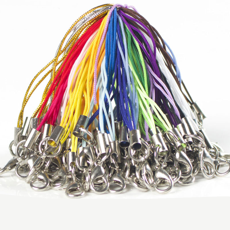 100pcs Multicolor Phone Chain Rope Accessories For Hama Beads Fuse Beads Iron Beads Jewelry Beads Accessories
