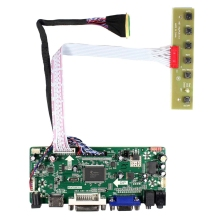 Hdmi Vga Dvi Audio Lcd Controller Board For 15.6Inch B156Hw01 Lp156Wf1 1920X1080 Lcd Screen free shipping b156hw01 v 5 b156hw02 lp156wf1 tlb2 ltn156ht01 ltn156ht02 15 6led 1920x1080 40pin lcd display laptop screen