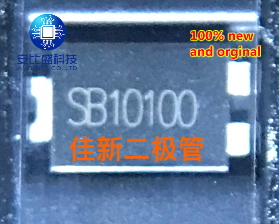 25pcs 100% New And Orginal  SB10100 10A100V TO277  In Stock