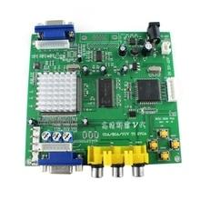 RISE-GBS8220 5Th Generation RGBS to VGA Dual Output Adapter CGA / EGA / VGA / YUV Component Video Converter Board